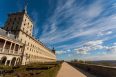 Pan view of The Escorial Royal Monastery — Stock Photo