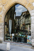 Reflections in Perigord region of France — Stock Photo