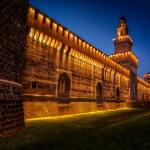 Sforza Castle — Stock Photo #48148767