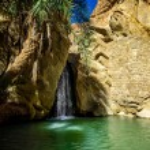 Waterfall Chebika Tunisia — Stock Photo #48548567