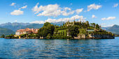Islad Bella Maggiore Lake — Stock Photo