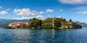 Islad Bella Maggiore Lake — Stock Photo