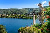 Isolabella Islad Maggiore Lake — Stock Photo