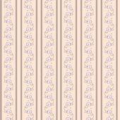 Vintage wallpaper with stripes — Stockvektor