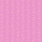 Seamless little cute hearts pattern — Stock vektor