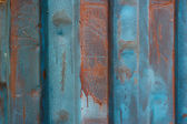 Rusty grunge blue background — Stockfoto