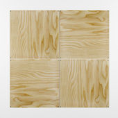 3 D plywood — Stock Photo