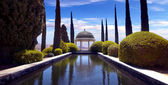Conception garden, jardin la concepcion in Malaga (Spain) — Stock Photo