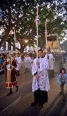 马拉加、 西班牙-4 月 09: 传统的游行活动,圣周我 — 图库照片