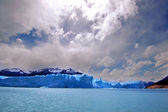 Picture captured in Perito Moreno Glacier in Patagonia (Argentin — Stock Photo