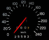 Car Mileage — Stock Photo