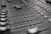 Sound Mixing Desk — Stock Photo