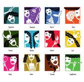 Znaki zodiaku — Zdjęcie stockowe