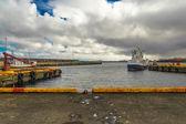 Harbour Keflavik — Stock Photo