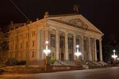 Academic Drama Theatre named after Taras Shevchenko Ternopil. Uk — Stock Photo