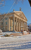 Academic Drama Theatre named after Taras Shevchenko. Ternoril. U — Stock Photo