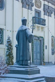 Monument to Archbishop Joseph Blind in front of the Greek Cathol — Stock fotografie