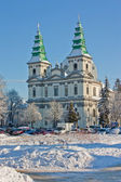Greek Catholic Cathedral in Ternopil, Ukraine — Stock Photo