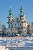 Greek Catholic Cathedral in Ternopil, Ukraine — Stock Photo