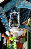 Antiga lâmpada a óleo — Foto Stock