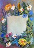 野生花卉 — 图库照片