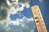 термометр — Стоковое фото