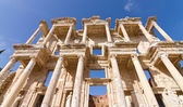Library of Celsus in Ephesus, Turkey — Foto de Stock