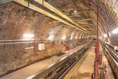 Old Tunnel Line from Karakoy to Istiklal Street, Istanbul — Stock Photo