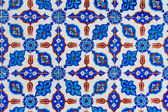 Turkish Blue Tile — Stock Photo
