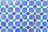 Turkish Blue Tile — Stock Photo