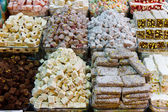 Turkish Delights in Spice Bazaar — Stock Photo