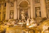 フォンタナ ディ トレビ, ローマ, イタリア — ストック写真