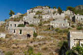 Ruins of Kayakoy, Fethiye — Stock Photo