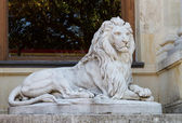 Lion Sculpture in Beylerbeyi Palace — Stock Photo