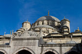 Eminonu New Mosque, Istanbul, Turkey — Stock fotografie