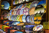 Turkish Ceramic Plates — Stockfoto