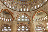 Interior view of Selimiye Mosque, Edirne, Turkey — Stock Photo