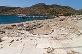 Amphitheatre of Knidos, Datca, Turkey — Stock Photo