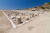 Ruins of Knidos, Datca, Turkey — Stock Photo