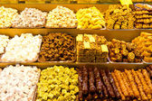 Turkish Delights and Turkish Sweets — Stock Photo
