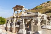 Fountain of Trajan in Ephesus, Turkey — Stock Photo