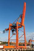 Port Crane — Stock Photo