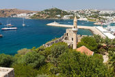 Bodrum Town from Mugla, Turkey — Stock Photo