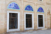 Windows of Selimiye Mosque, Edirne, Turkey — Stock Photo
