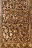 Door of Uc Serefeli Mosque, Edirne, Turkey — Stockfoto