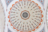 Decoration of Ceiling from Suleymaniye Mosque, Istanbul — Stock Photo