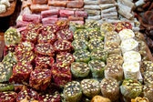 Turkish Delights from Spice Bazaar, Istanbul — Stock Photo