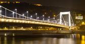 Elisabeth Bridge, Budapest, Hungary — Stock Photo