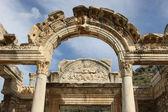 Hadrianus temple Ephesus — Stock Photo