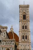 Campanile, florença, itália de giotto — Fotografia Stock